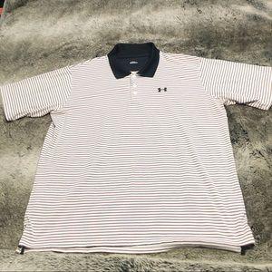 Men's XL Under Armour golf shirt dri fit material
